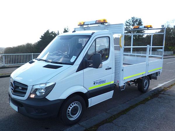 3 5t 5t Traffic Management Vehicles Blakedale