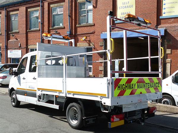 3.5t - 5t Traffic Management Vehicles