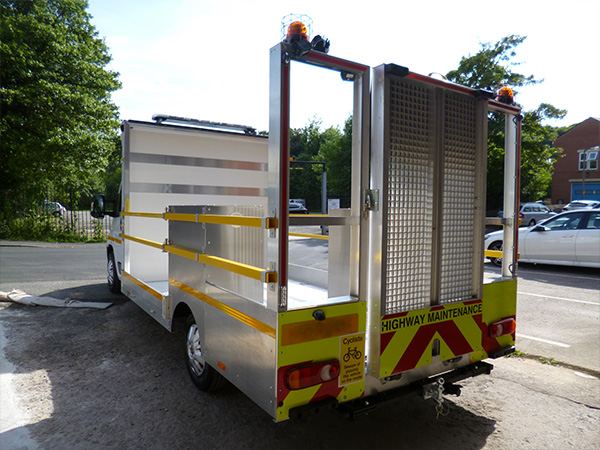 3.5t Low Bodied Traffic Management Vehicles