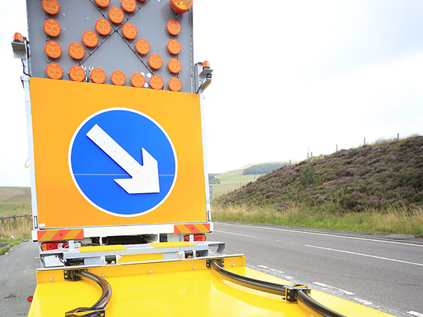 Crash Cushions Traffic Management Vehicles Blakedale