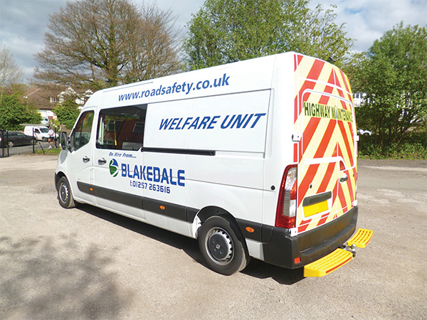 Welfare Vehicles Mess Vans Blakedale