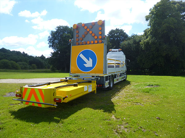 18t Traffic Management Vehicles with Crash Cushion
