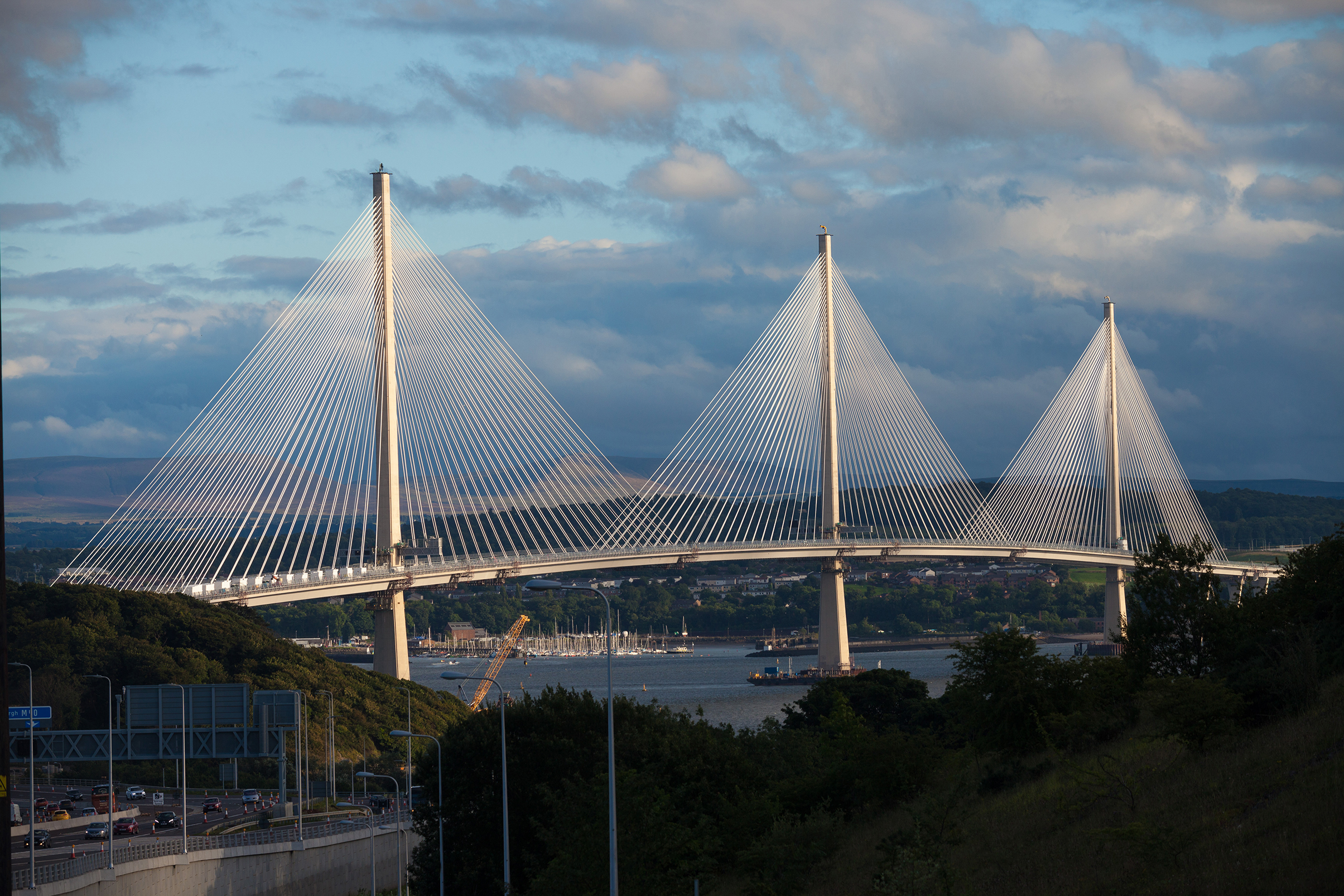 Blakedale goes forth at new Queensferry Crossing